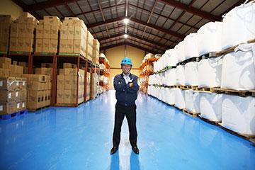 山口県内全域、大阪の門真市、大東市、寝屋川市を中心に、物流施設を保有する吉南株式会社の倉庫保管サービス