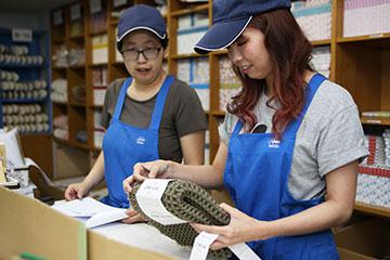 倉庫内での流通加工サービスで、荷物の付加価値を高める吉南の流通加工サービス
