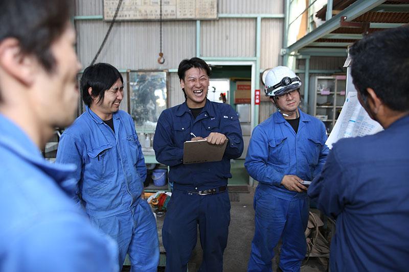 熟練工による作業効率と現場力