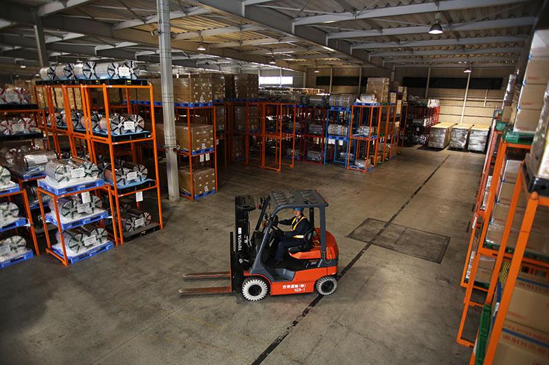 吉南運輸株式会社は地域ナンバーワンの保管スペース