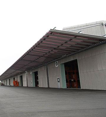 宇部湾岸倉庫